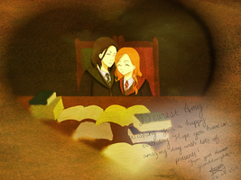 HP: Snape and Lily by jelli-chan
