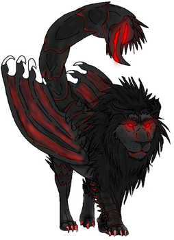 The Crimson Manticore by HyperViolence2