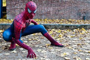 Lucca CG 2011 Mar: Spiderman 2 by LarsVanDrake