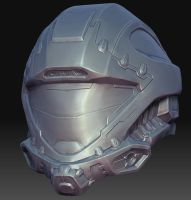 Recon Helmet Sculpt by MikeJensen