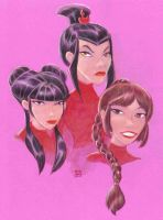 Ozai's Angels by LEXLOTHOR