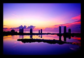 Miami Skyline II - Revisited by AJHege