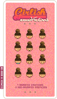 Girlish - emoticons by Nada-AbdulRazak