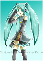 Simply Hatsune by Feather-Storm