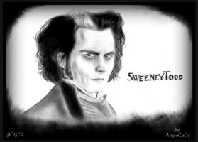 Sweeney Todd by AngieElric666