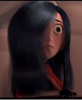 Violet Parr scared by TheParrFamily