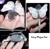 Fairy Plague Rat Clip by SweetDemonShia