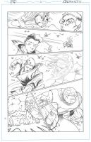 Fantastic Four sub page 1 by artistjerrybennett