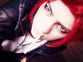 just Mikoto Suoh by SCHIZOPHRENIC-ALICE