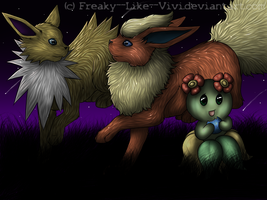 .:Pokemon Play:. (semi realistic) by Freaky--Like--Vivi