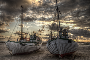 Fisherman Boat by Lars-V
