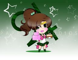 Chibi Sailor Jupiter by Paprika-Studios