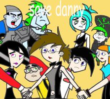 SAVE DANNY PHANTOM by lonewolf20