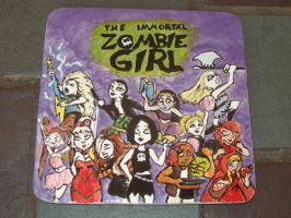 Zombie Girl Trivet by Gummibearboy