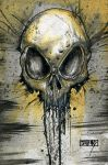 Skull Speed Painting 0.1 by Jay-Allen-Hansen