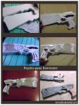 Psycho-Pass dominator prop by Lemnel24