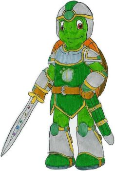 Franklin the Green Knight by MCsaurus