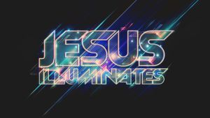 Jesus Illuminates -  Wallpaper by mostpato