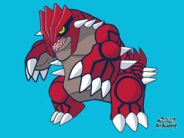 Groudon by WhiteOrchid14