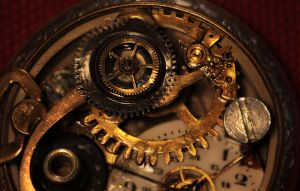 Clockwork Heart Giudy - macro 1 by Darkzeriel