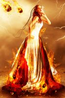 Fire Bride by Kryseis-Art