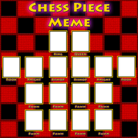 Chess Piece Meme - template by Moheart7