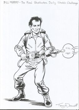 Bill Murray - Ghostbuster! by ga-ren