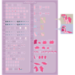 Pinkie Pie Puppet Sheet FINAL by FlamingoRich