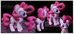 Pinkie Pie Custom Plush by Nazegoreng