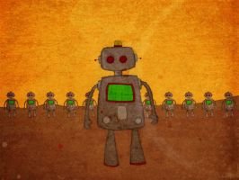 I welcome our robot overlords by whosname