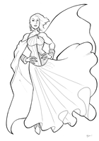 Met Gala Power Girl by BevisMusson