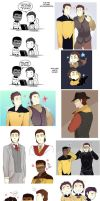 Star Trek art dump 8 by MooseFroos