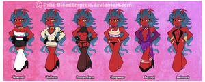 PSG - Kanona Outfits by Priss-BloodEmpress