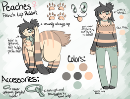Peaches Reference Sheet by Mademoiselle-Squeaky