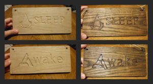 Assassin's Creed sign by MasterLexicon