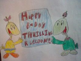 Happy B-Day ThrillingRaccoon by nintendolover2010