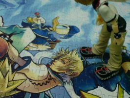 Roxas on Puzzle by azirahl