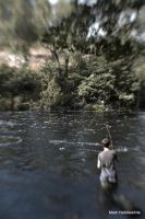 Fly fishing by lensenvy62