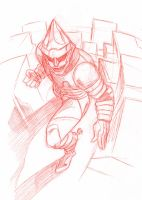 JET JAGUAR SKETCH by stalk