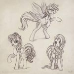 Pony Drawings by KP-ShadowSquirrel