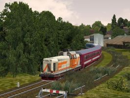 International Train - Alfold by Sadguardian