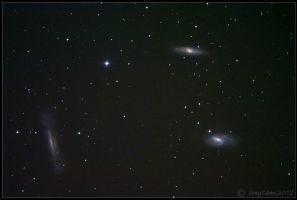 The Leo Triplet by CapturingTheNight
