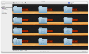 Jshelves For iMac by jessecheema