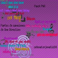 Textos PNG de Canciones de One Direction. by SelenatorJonatic