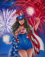 4th of July by LCArtDesign