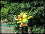 Wild Zapdos Plushie Appeared! by Shadow-Dinosaur