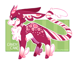 ( CLOSED ) Candy Cane - Flatsale - 2016 CALENDAR by BluePandaaah