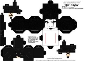 Cubee Eric Draven template by Anilewka