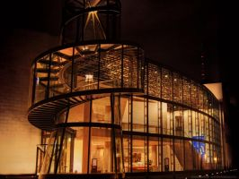 Berlin - Museum at Night by pingallery
