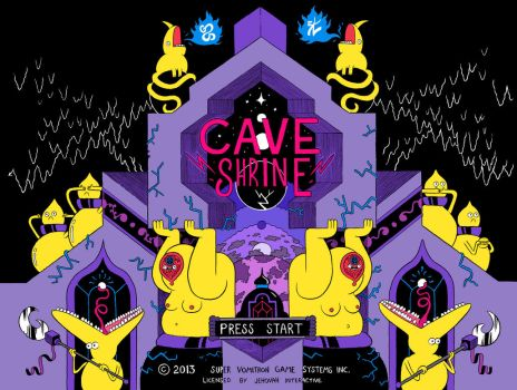 CAVE SHRINE PAGE TWO by mrdynamite